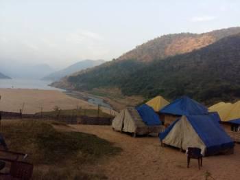 Rajahmundry to Kolluru Bamboo Huts Tour