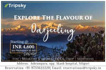 3 Night 4 Days Darjeeling Tour Package