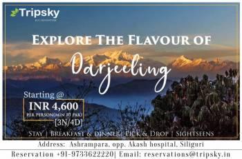 3 Night 4 Days Darjeeling Tour Package