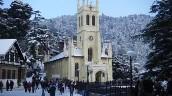 3 Nights 4 Days Chandigrah to Shimla