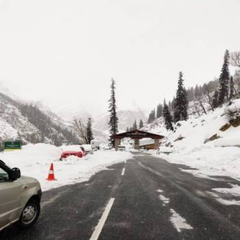 Manali to Atal Tunnel Snow Point