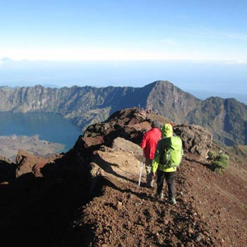 Climb Mount Rinjani Route A Package