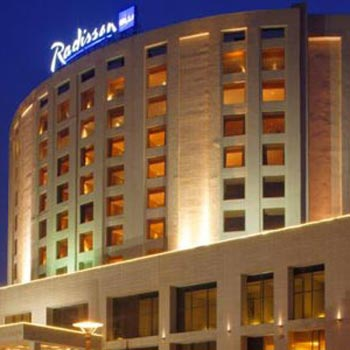 Hotel Radisson Blu Dwarka, New Delhi India