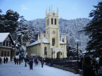 Delhi - Shimla - Manali - Chandigarh - Agra - Delhi 7 Days / 6 Nights Tour