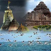 Trigonic Odisha -with Lake & Beach - Incredible Orissa Tour
