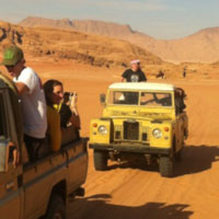 See Jordan Jeep Safari
