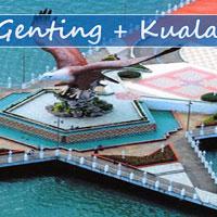 Kuala Lumpur - Genting - Sunway Lagoon - Langkawi Tour