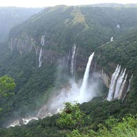 North East India Guwahati - Shillong - Cherrapunjee Tours- 3 Nights/ 4 Days
