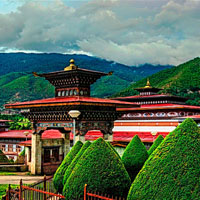 The Himalayan kingdom of Bhutan and Sikkim Package