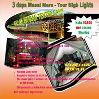 2 Nights - 3 Days Masai Mara Easter offer