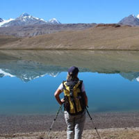Trekking Tour To Chandratal In Manali