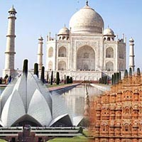 Himcon's Cheap & Best Golden Triangle Tour with Mathura,(Tour Code: HITS-GoldenTriangle-02)