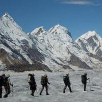 Snow Lake Tour Karakorum Pakistan