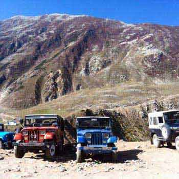 Great North Pakistan Jeep Safari Tour