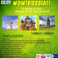 WOW!! RUSSIA !!! Tour
