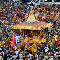 The Rath Yatra of Lord Raghunathji