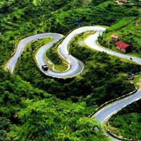 Delhi - Mussoorie - Ranikhet - Kausani - Nainital - ...