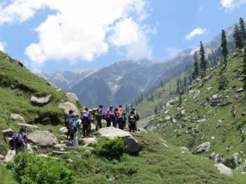 Trekking Camping in Dharamshala Tour