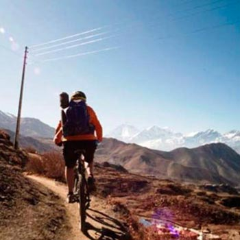 Biking in Jomsom-Muktinath Trail Tour