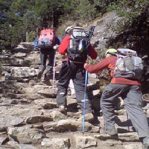 Trekking in Gandhamardan Hill