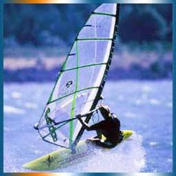 Windsurfing in St Tropez
